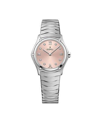 EBEL EBEL Sport Classic1216444A – Montre bracelet de 29mm pour femmes - Front view
