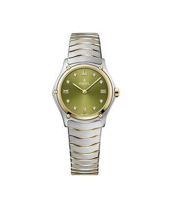 EBEL EBEL Sport Classic1216473A – Montre bracelet de 29mm pour femmes - Front view