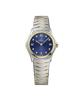 EBEL EBEL Sport Classic1216446A – Montre bracelet de 29mm pour femmes - Front view